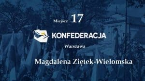 """Magdalena Ziętek-Wielomska: """"Front walki przebiega według linii narodowcy – internacjonaliści vel. kosmopolici, a nie lewica/prawica"""". konfederacja magda"""