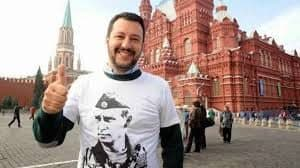 """Lewicki: """"Wielka Piątka"""" Unii i gra o Europę w Paryżu i Warszawie salvini"""